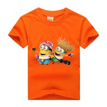 Memon 2017 NEW style Boys and Girls T shirts Childrens mark Shirts boys short sleeves comfortable KIDS cloth(China)
