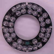 Infrared 36 x 5 IR LED  board for CCTV cameras night vision (diameter 60mm) for CS LENs