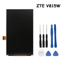 For ZTE V815W LCD Display Screen Perfect Replacement Mobile Accessories For ZTE V815W Mobile Phone Fixing Parts With Tools(China)