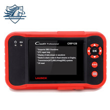 Original Launch Automotivo Scanner X431 Creader CRP129 diagnostic Code of ENG/AT/ABS/SRS and Brake/SAS/Oil Service Light reset