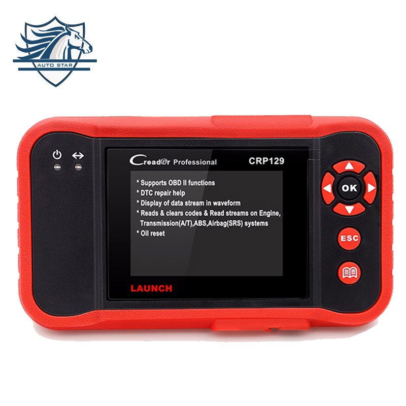 Original Launch Automotivo Scanner X431 Creader CRP129 diagnostic Code of ENG/AT/ABS/SRS and Brake/SAS/Oil Service Light reset(China (Mainland))