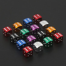 4pcs 3D Dice Shaped Car styling Tire Wheel Tire Caps For Mercedes BMW For AUDI VW Ford Honda Toyota Tire Valve Cap