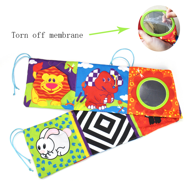 Baby-Toys-Baby-Crib-bumper-Baby-Cloth-Book-Baby-Rattles-Knowledge-Around-Multi-Touch-Colorful-Bed