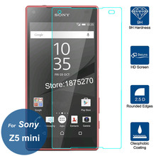 Buy Sony Xperia Z5 mini Tempered Glass 2.5D 9H Screen Protector Safety Protective Film Z 5 Z5 Compact Z5mini E5823 E5803 for $2.74 in AliExpress store