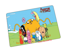 Adventure Time mouse pad  birthday gift game pad to mouse notebook computer mouse mat brand gaming mousepad gamer laptop
