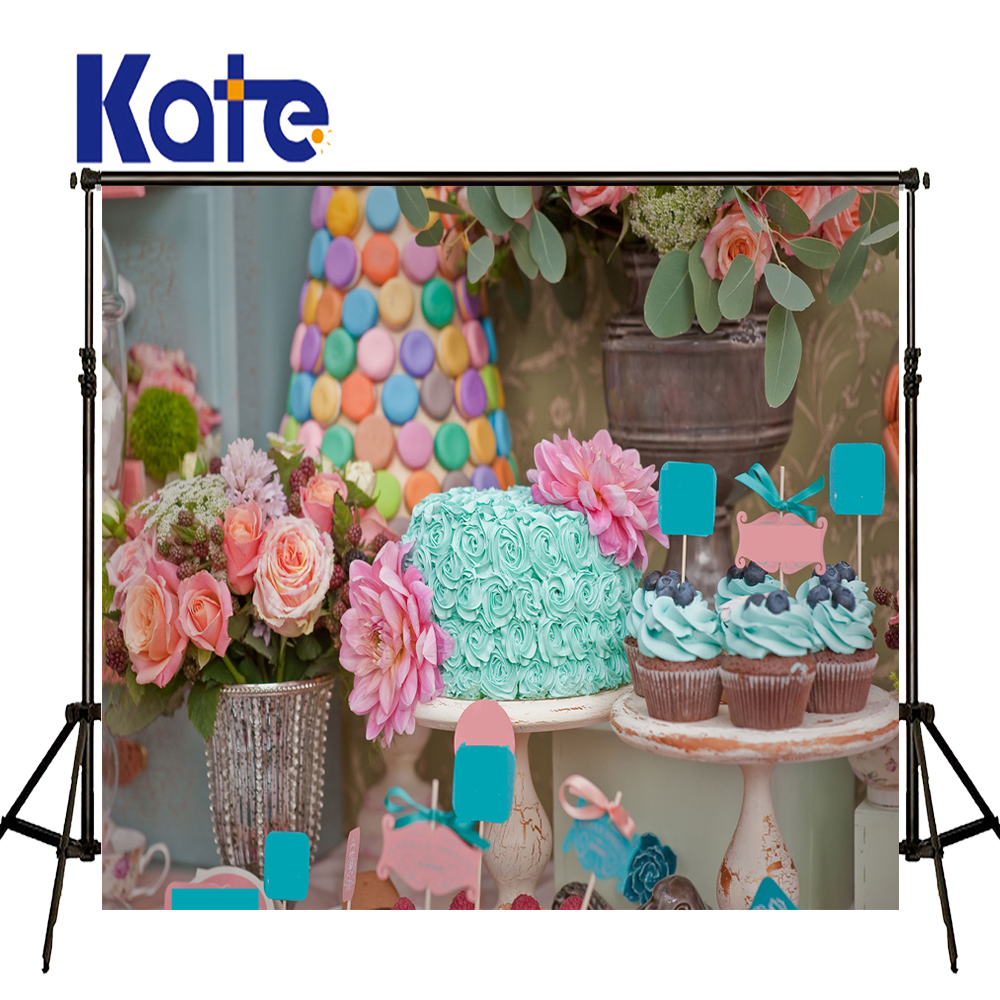 10x10ft Kate Dessert Table Backdrop Sweet Candy Newborn Photography Background Fairy Tale Photo For photocall Baby<br>
