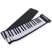 New Creative Wireless Keyboard MD88S USB MIDI Roll Up Piano Kit with Flexible 88 Keys Professional MIDI Keyboard For Children(China)