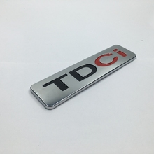 135*35mm Car ABS TDCI Emblem Badge Logo Lettering Sticker for Ford Mondeo Kuga S-Max CMax Diesel(China)