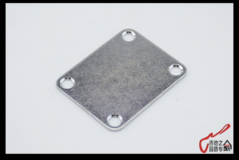 CHROME NEW Gotoh Neck Plate w// SERIAL NUMBER for Guitar//Bass