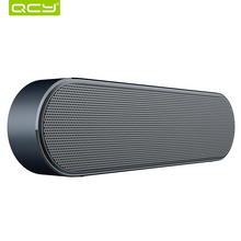QCY B900 Bluetooth wireless speaker metal portable 3D stereo sound speakers system MP3 music audio player support AUX with MIC(China)