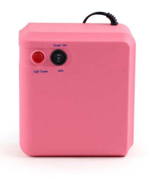 Pro 36W Pink UV Gel Nail Art Cure Curing Lamp Dryer w/ 4pcs 9W Bulb 110V 220V<br>