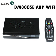 DM800se Satellite Receiver A8P Sim Card Wifi Bootloader 84 BCM4505 Tuner Decoder DM800hd se Wifi Linux Operating System