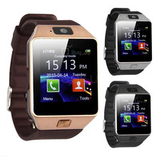 Free Shipping Cheapest Camera Digital dz09 Bluetooth Sports Wrist Watch Cell Phone for Huawei(China)