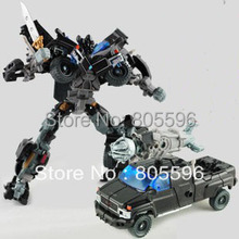 19cm Ironhide 3C Domestic Voyager Deformation Robot Dark of the Moon Action Figures boy's birthday toy Without the original box(China)