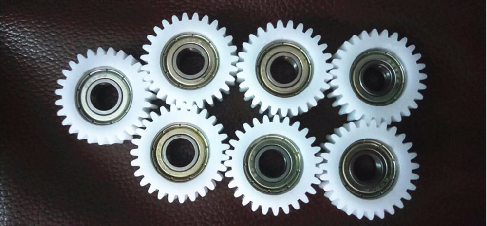 7pc copier developing gear with bearing compatible For oce 400 450 300 320 360 340 9400 600 700 750 engineer  DEVELOPER gear