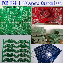 Customized PCB fr4 double side copper 1 -30 layer breadboard PCBA manufacturer and PCB Assembly service(China)
