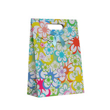 Free Shipping 12 X Sunflower Gift bag Wedding Birthday Party Paper Portable Gift Bag Party Favor Supply(China)