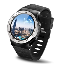 "ZGPAX S99A 3G Smartwatch Phone 1.33"" Android 5.1 MTK6580 Quad Core 8GB 2.0MP Camera WiFi Heart Rate Montior Smart Watch PK KW88(China)"
