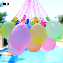 111Pcs/bag Water Balloon Mixed Colorful Amazing Magic Water Balloon Bombs Toys Kids Party Supplies Inflatable balls for holidays(China)