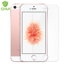 10piece 9H 2.5D Tempered Glass Film For Apple iPhone 5 5s 5c SE 4.0inch Screen Protector CHYI Brand Protective With Wipe Tools
