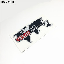 Motorcycle Tail Box Car Sticker Decals for R1200GS F700GS F800GS GS Adventure Map
