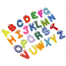 Children Learning Educational English Alphabet Magnetic Puzzles 24pcs in 1 set ABC Kids Toys HT3021
