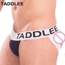 Buy Taddlee Brand Sexy Mens Jock Straps Underwear Briefs Bikini Gay Penis Pouch Men Backless Buttocks Jockstraps Thong G Strings New