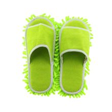 Multifunction Microfiber Chenille Floor Dust Cleaning Slippers Mop Wipe Shoes Wigs House Home Cloth Clean Cover(China)