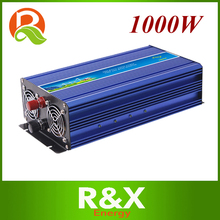 1000W off grid pure sine wave inverter, wind solar power inverter DC12V~110V/ to AC 110~240V. With with CE RoHS FCC Certificates(China)