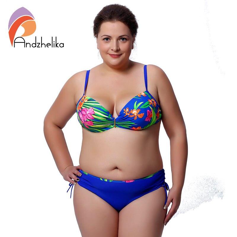 Plus Size XXL-6XL Swimwear Push Up Bikini for Big Women Sexy Diamond Floral Printed Beachwear Swimsuit Biquini bikinis Set T5086<br><br>Aliexpress