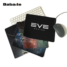 Babaite Game Series EVE ONLINE Dark Logo Cool Personalized Computer Notebook Mouse Mat Resistant Dirt 180x220mm Mouse Pad(China)