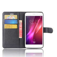 Buy HomTom HT27 Case Flip Phone Cases Cover Card Slots Lichee Pattern High Bags Stand PU Leather Case Wallet for $3.99 in AliExpress store