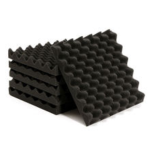 6pcs Soundproofing Foam Materials Tiles Triangle Sound-Absorbing Noise for sound recording studio listening room
