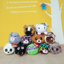 2017 New styles Tsum Tsum ty Plush Toy Dog Turtle Cat Tiger Panda Penguin Rabbit Stuffed Animal Cleaner Kids Toy Gift