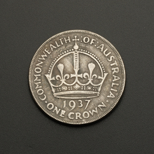 1937  The United Kingdom  King George VI Crown Coins Vintage Commemorative Coins BTC413