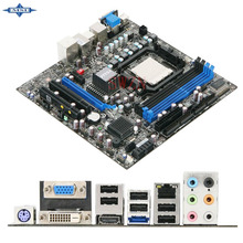 original Used Desktop motherboard For msi 760GM-E51 760GM support Socket AM3 4*DDR3 support 16G 5*SATA2 USB2.0 Micro ATX