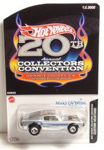 Hotwheels Custom Mustang - 20th anniversary Make a wish die-cast model cars