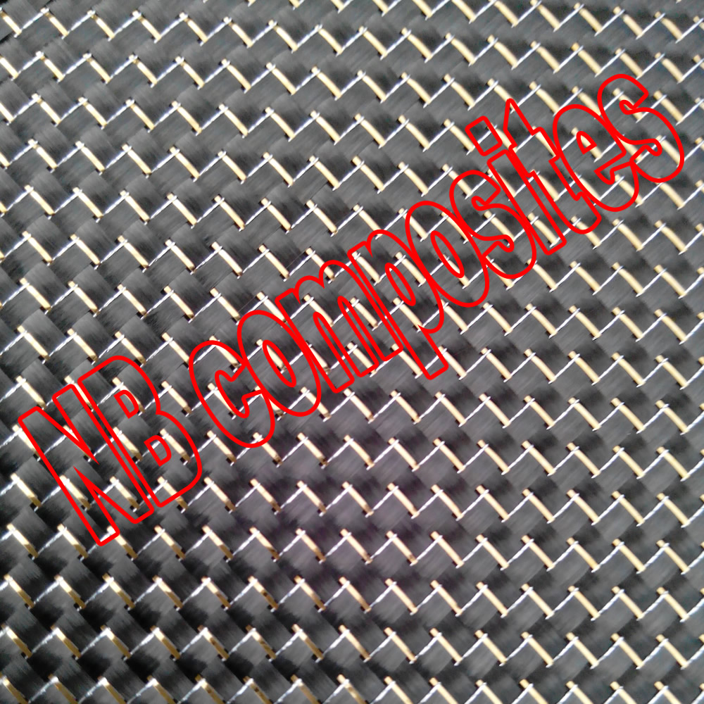 Metallic carbon fiber cloth Gold reflective carbon fiber for lamination and auto parts(China)