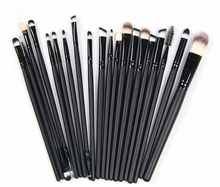 2017 New 15PCS Makeup Brushes Set Eyeshadow Mascara Blending Pencil Brush Brushes Kit Black Cool