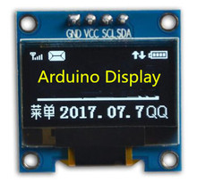 0.96 inch 4P White/Blue/Yellow Blue OLED Module SSD1315 Drive IC Compatible for SSD1306 IIC Interface 128*64(China)