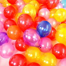 50 Pieces 10 Inches 1.5g Latex Balloons Wedding Decorations Air Balls Birthday Party Supplies Marriage Globos Weeding Balloons(China)