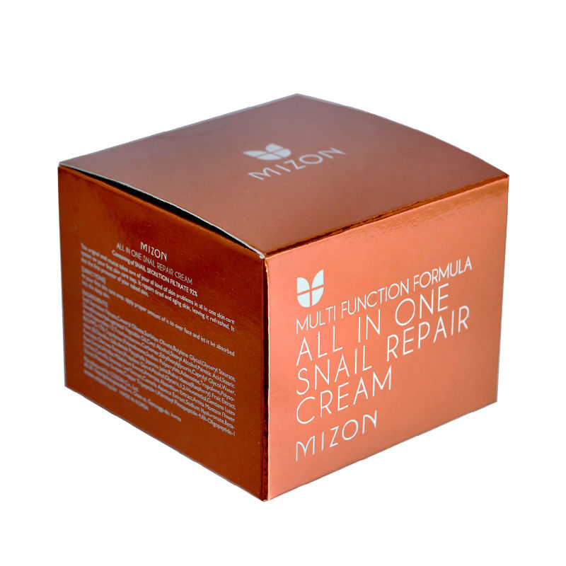 MIZON All In One Snail Repair Cream 120ml (Super Size) Facial Cream Face Skin Care Whitening Moisturizing Anti-aging Anti Wrink<br>