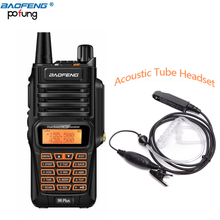 Baofeng UV-9R Plus IP67 Waterproof Walkie Talkie 8W 2800mAh 128CH VHF UHF FM Radio VOX SOS Alarm Professional Two Way Radio(China)