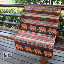 70cm*180cm Cotton fashion women scarf Thailand National Style Elephant Printed high quality Shawls and wraps 2017 new arrival