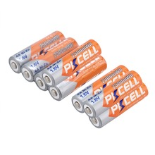 8 pcs AA Batteries Ni-Zn 2500MA 1.6V AA Rechargeable Battery 2A Electronic Toys 2a Bateria(China)