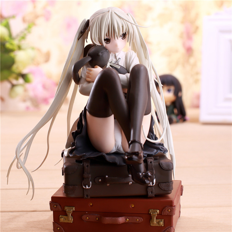 1/7Hot selling Anime Action Figure Maiden cartoon characters The Fate of the sky sexy pretty girls Action Figure toys model doll<br>
