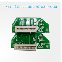 Free shipping ! good quality Inkjet printer Xaar 128 print head connector for Zhongye 128 printer head transfer card(China)