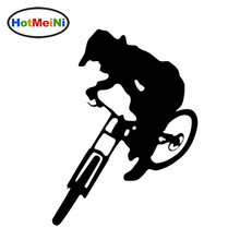 HotMeiNi 15*20cm Downhill Trails Mountain Bike styling oem car window Car Sticker JDM Vinyl Decal Black/Sliver Etc 13 color(China)