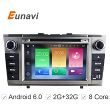 Octa(8)-Core Android CAR DVD player FOR TOYOTA AVENSIS 2008-2013 car audio gps stereo head unit Multimedia navigation - Eunavi Factory Store store