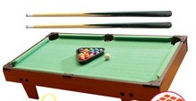 Small size Billiards indoor Mini Tabletop Game Playing one set Snooker Tables